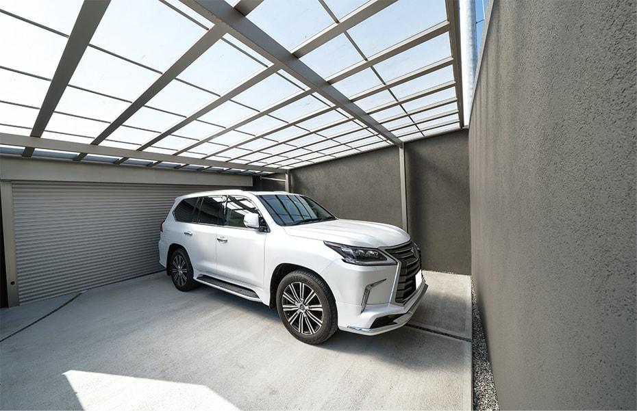 工事期間中 駐車場利用可能