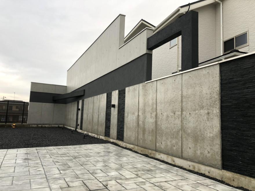 松岡工業株式会社 グランドアートウォール 施工事例